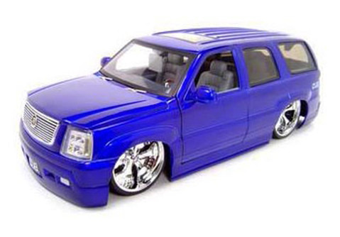 Cadillac Escalade SUV, Purple - Jada Toys Dub City 63102 - 1/18 scale Diecast Model Toy Car