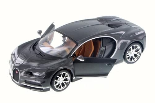 Bugatti Chiron, Black - Maisto 34514 - 1/24 Scale Diecast Model Toy Car