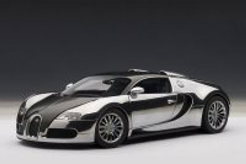 Bugatti Veyron EB 16.4, Black - AutoArt 70966 - 1/18 Scale Collectible Diecast Vehicle Replica