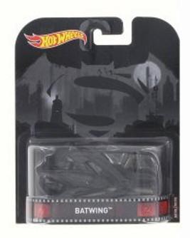 Batman vs Superman 2016 Batwing, Black - Mattel/Hot Wheels DMC55-956A - 1/64 Scale Diecast Model Toy Car