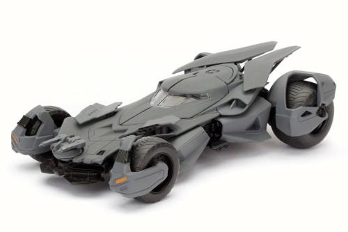 2016 Batman vs Superman Batmobile, Primer Gray - Jada 98265 - 1/24 Scale Diecast Model Toy Car