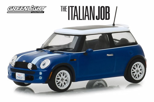 2003 Mini Cooper, The Italian Job (2003) - Greenlight 86546 - 1/43 scale Diecast Model Toy Car