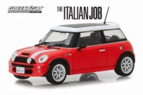 2003 Mini Cooper, The Italian Job (2003) - Greenlight 86547 - 1/43 scale Diecast Model Toy Car