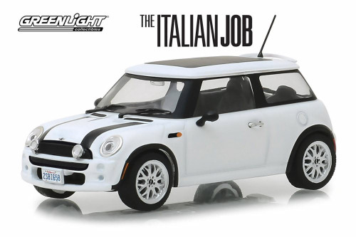 2003 Mini Cooper, The Italian Job (2003) - Greenlight 86548 - 1/43 scale Diecast Model Toy Car