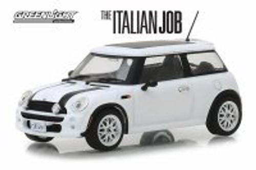 2003 Mini Cooper, The Italian Job (2003) - Greenlight 86548 - 1/43 scale Diecast Model Toy Car
