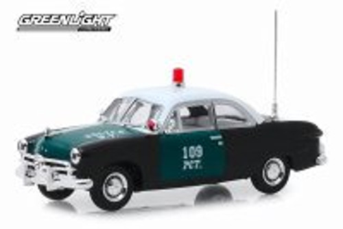 1949 Ford, New York City Police Department (NYPD) - Greenlight 86165 - 1/43 scale Diecast Model Toy Car