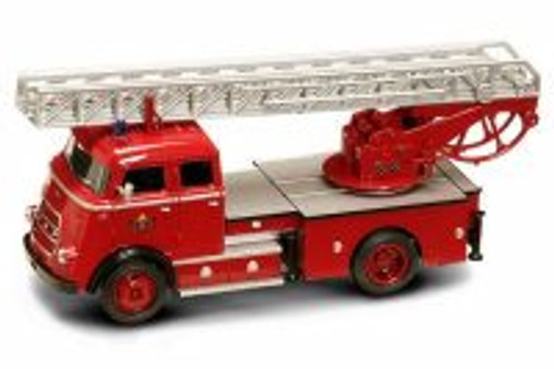 1962 DAF A1600 Fire Engine, Red - Yatming 43016 - 1/43 Scale Diecast Model Toy Car