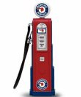 Digital Gas Pump Pontiac Service, Red - Yatming 98661 - 1/18 scale diecast model