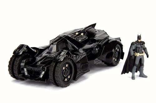 Batmobile w/ Batman figure, Arkham Knight - Jada 98037 - 1/24 Scale Diecast Model Toy Car