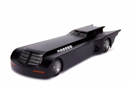 Batmobile Animated Series, Batmobile - Jada 30943 - 1/24 scale Diecast Model Toy Car