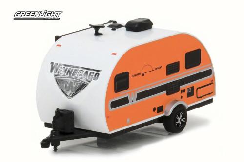 2016 Winnebago Winnie Drop 1710, Orange - Greenlight 34020E - 1/64 Scale Diecast Model Toy Car