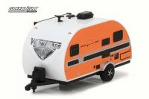 2016 Winnebago Winnie Drop 1710, Orange - Greenlight 34020E - 1/64 Scale Diecast Model Toy Car
