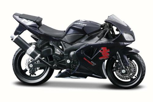 Yamaha YZF-R1 Motorcycle, Deep Blue - Maisto 31300YAM - 1/18 Scale Diecast Motorcycle