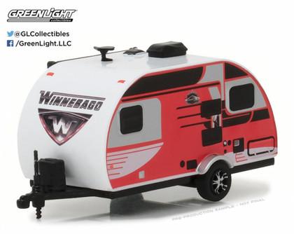 2016 Winnebago Winnie Drop 1710, Red - Greenlight 34030D - 1/64 Scale Diecast Model Toy Car