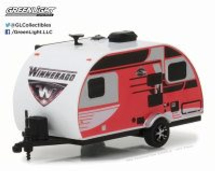 2016 Winnebago Winnie Drop 1710, Red - Greenlight 34030D - 1/64 Scale Diecast Model Toy Car