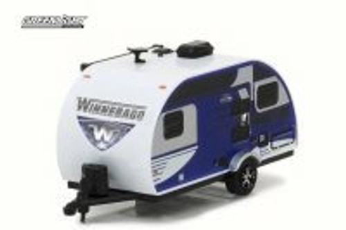 2016 Winnebago Winnie Drop 1710, Blue - Greenlight 34020D - 1/64 Scale Diecast Model Toy Car