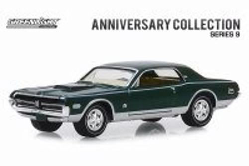 1968 Mercury Cougar XR-7 GT-E 428 Cobra Jet, Cobra Jet 50th Anniversary  - Greenlight 28000A/48 - 1/64 scale Diecast Model Toy Car