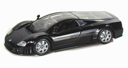 Volkswagen Nardo W12 Show Car, Black - Motormax 73241 - 1/24 scale Diecast Model Toy Car