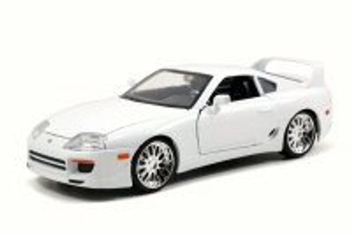 1995 Brian's Toyota Supra, White - JADA 97375 - 1/24 Scale Diecast Model Toy Car