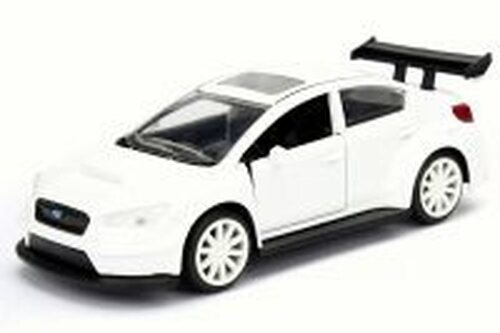 Mr. Little Nobody's Subaru WRX STI F8 Fate of Furious, White - Jada 98305 - 1/32 Scale Diecast Model Toy Car