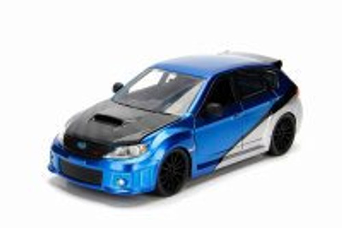 2012 Subaru Impreza WEX STI, Fast and Furious - Jada 99560 - 1/24 Scale Diecast Model Toy Car