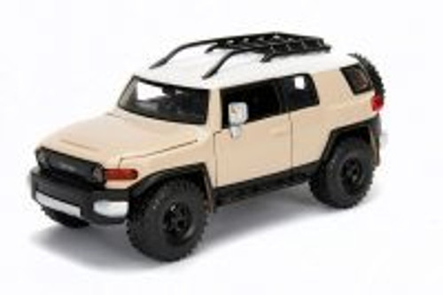 Toyota FJ Cruiser, Beige - Jada 31708DP1 - 1/24 scale Diecast Model Toy Car