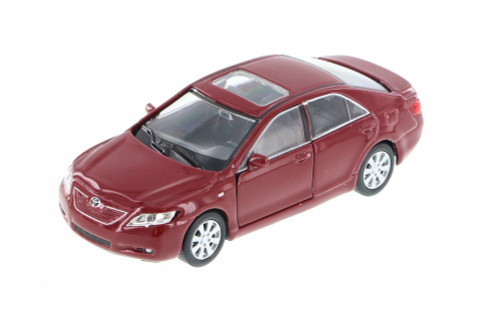 "Toyota Camry, Red - Welly 42391 - 4.5"" Long Diecast Model Toy Car (Brand New, but NOT IN BOX)"