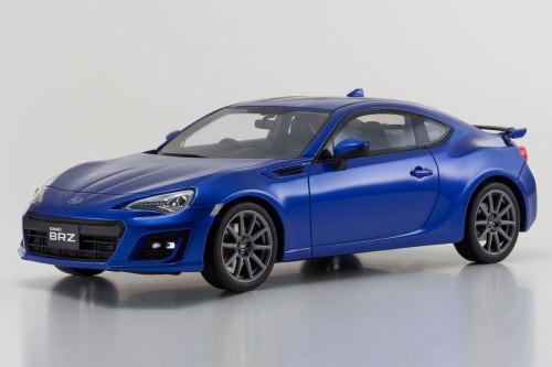 Subaru BRZ GT, Blue - Kyosho KSR18027BL - 1/18 Scale Collectible Resin Model Car