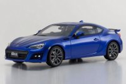 Subaru BRZ GT, Blue - Kyosho KSR18027BL - 1/18 Scale Collectible Resin Model Car