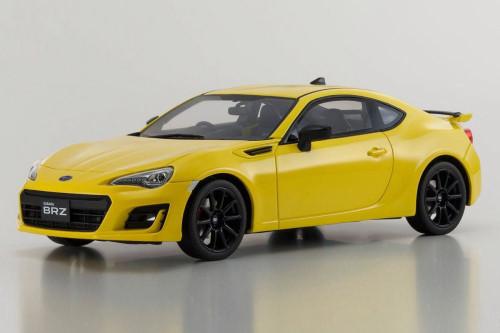 Subaru BRZ GT, Yellow - Kyosho KSR18027Y - 1/18 Scale Collectible Resin Model Car