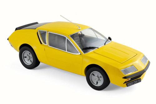 1977 Renault Alpine A310, Yellow - Norev 185143 - 1/18 Scale Diecast Model Toy Car