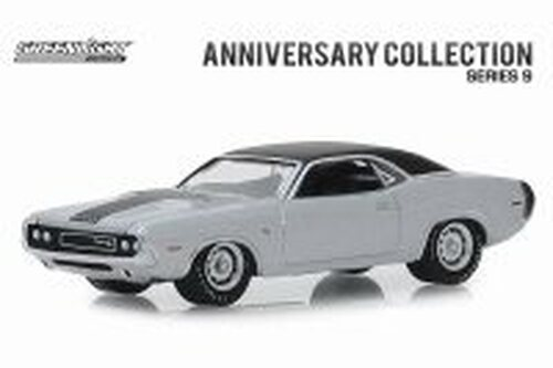 1970 Dodge Challenger R/T HEMI, 426 HEMI 50 Years  - Greenlight 28000B/48 - 1/64 scale Diecast Model Toy Car