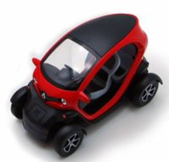 "Renault Twizy, Red - Kinsmart 5111D - 5"" Diecast Model Toy Car (Brand New, but NOT IN BOX)"