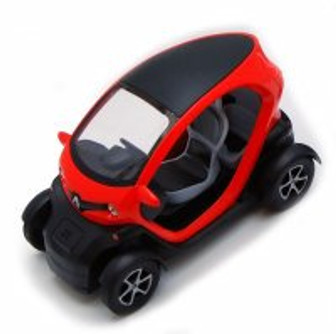 "Renault Twizy, Orange - Kinsmart 5111D - 5"" Diecast Model Toy Car (Brand New, but NOT IN BOX)"