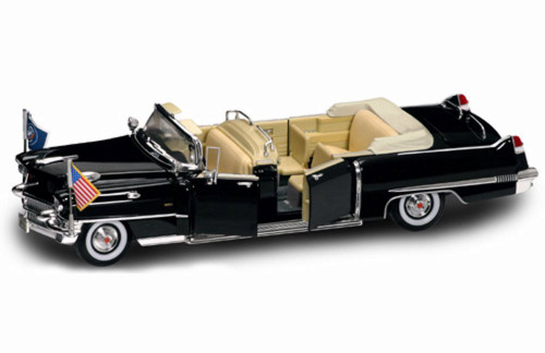 1956 Cadillac Presidential Limousine Convertible - Road Signature 24038 - 1/24 Scale Diecast Model Toy Car