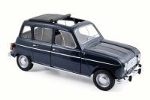 1965 Renault 4, Copenhague Blue - Norev 185241 - 1/18 Scale Diecast Model Toy Car