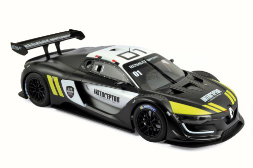 2016 Renault R.S. 01 Interceptor Jean Ragnotti, Black, Yellow and White - Norev 185137 - 1/18 Scale Diecast Model Toy Car