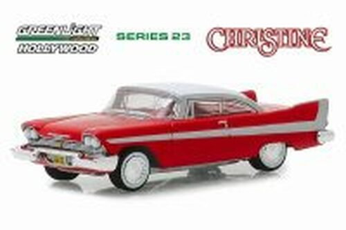 1958 Plymouth Fury, Christine - Greenlight 44830C/48 - 1/64 Scale Diecast Model Toy Car