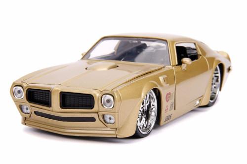1972 Pontiac Firebird Hardtop - Hooker, Gold Metallic - Jada 31459 - 1/24 scale Diecast Model Toy Car
