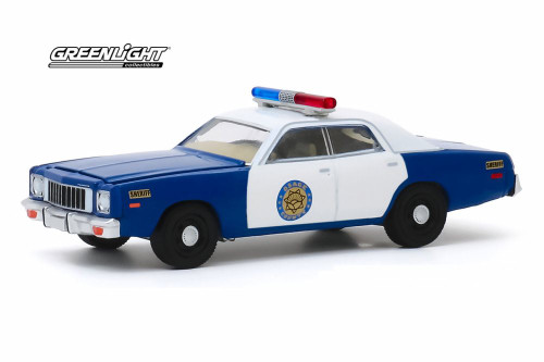 1975 Plymouth Fury, Osage County Sheriff - Greenlight 30151/48 - 1/64 scale Diecast Model Toy Car