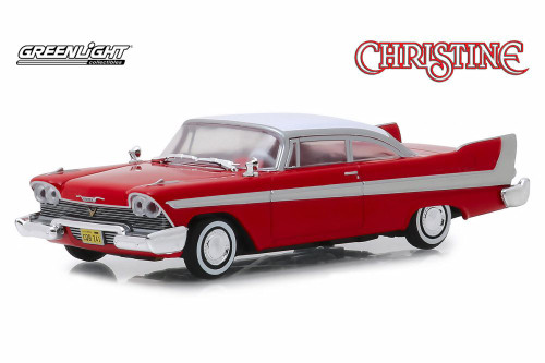 1958 Plymouth Fury Hard Top, Christine - Greenlight 86529 - 1/43 Scale Diecast Model Toy Car