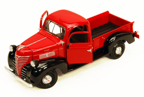 1941 Plymouth Truck, Red With Black - Showcasts 73278 - 1/24 Scale Diecast Model Car (Brand New, but NOT IN BOX)
