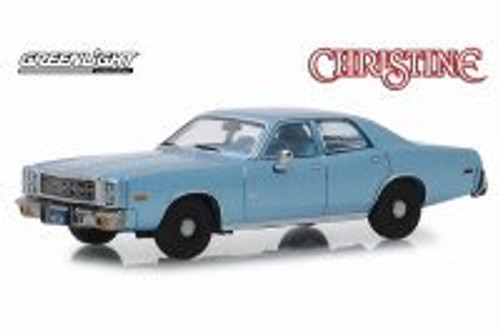 1977 Plymouth Fury Hardtop, Christine - Detective Rudolph Junkins - Greenlight 86559 - 1/43 scale Diecast Model Toy Car