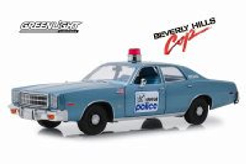1977 Plymouth Fury (Detroit Police), Beverly Hills Cop - Greenlight 19069 - 1/18 scale Diecast Model Toy Car