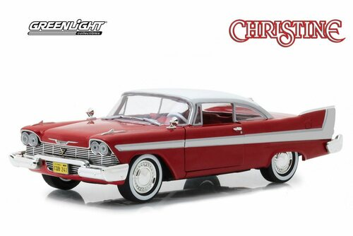 1958 Plymouth Fury, Christine - Greenlight 84071 - 1/24 Scale Diecast Model Toy Car