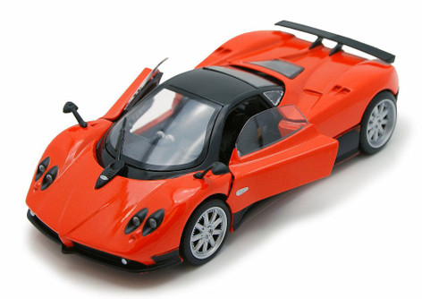 Pagani Zonda F, Orange - Motor Max 73369W - 1/24 Scale Diecast Model Toy Car