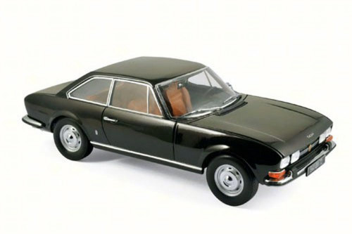 1973 Peugeot 504 Coupe, Brown Metallic - Norev 184822 - 1/18 Scale Diecast Model Toy Car