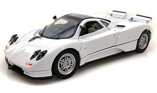 Pagani Zonda C12, White - Motormax 73272 -1/24 scale Diecast Model Toy Car