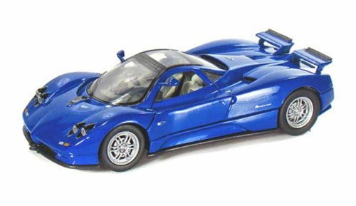 Pagani Zonda C12, Blue - Motormax 73272 -1/24 scale Diecast Model Toy Car
