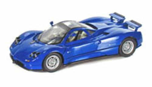 Pagani Zonda C12, Blue - Motormax 73272 -1/24 scale Diecast Model Toy Car